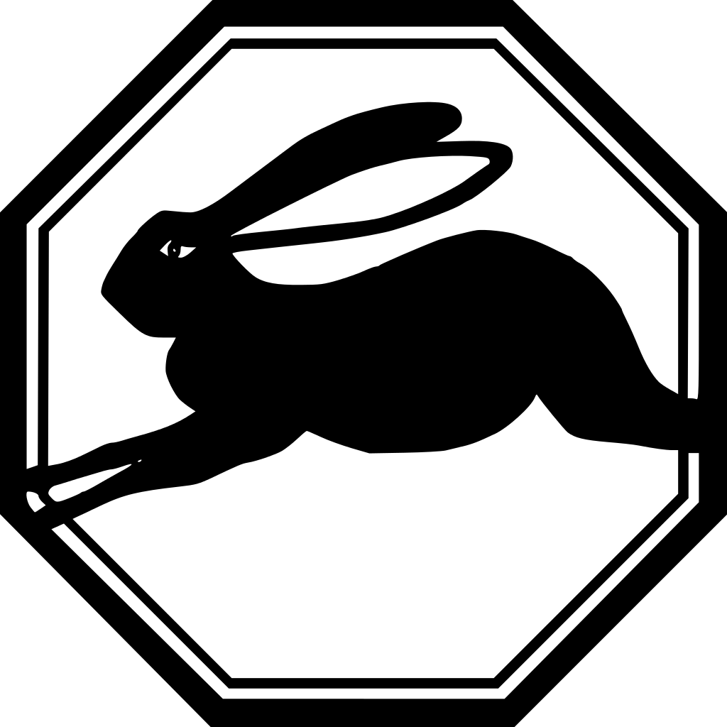 1939, 1999 Chinese Zodiac Rabbit – Earth Rabbit